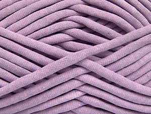 Fiber Content 60% Polyamide, 40% Cotton, Light Lilac, Brand Ice Yarns, Yarn Thickness 6 SuperBulky  Bulky, Roving, fnt2-63441