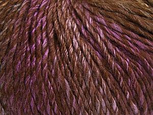 Fiber Content 70% Acrylic, 30% Wool, Lilac, Brand Ice Yarns, Brown Shades, Yarn Thickness 4 Medium  Worsted, Afghan, Aran, fnt2-63456