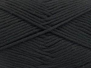 Fiber Content 52% Nylon, 48% Acrylic, Brand Ice Yarns, Black, Yarn Thickness 4 Medium  Worsted, Afghan, Aran, fnt2-63460