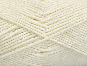 Fiber Content 52% Nylon, 48% Acrylic, Brand Ice Yarns, Ecru, Yarn Thickness 4 Medium  Worsted, Afghan, Aran, fnt2-63462