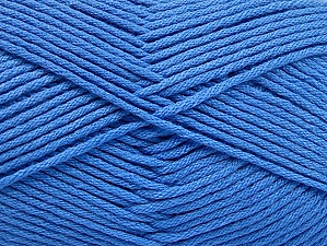 Fiber Content 52% Nylon, 48% Acrylic, Brand Ice Yarns, Blue, Yarn Thickness 4 Medium  Worsted, Afghan, Aran, fnt2-63466