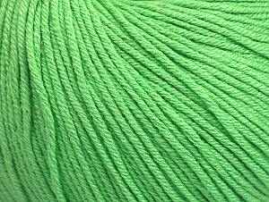 Fiber Content 60% Cotton, 40% Acrylic, Light Green, Brand Ice Yarns, Yarn Thickness 2 Fine  Sport, Baby, fnt2-63479