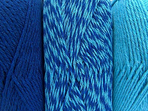 Fiber Content 90% Acrylic, 10% Polyester, Turquoise, Brand Ice Yarns, Blue, Yarn Thickness 3 Light  DK, Light, Worsted, fnt2-64022