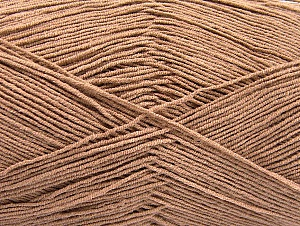 Fiber Content 55% Cotton, 45% Acrylic, Brand Ice Yarns, Camel, Yarn Thickness 1 SuperFine  Sock, Fingering, Baby, fnt2-64141