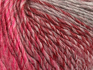 Fiber Content 70% Acrylic, 30% Wool, Red, Pink Shades, Brand Ice Yarns, Grey Shades, Yarn Thickness 3 Light  DK, Light, Worsted, fnt2-64215