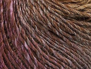 Fiber Content 70% Acrylic, 30% Wool, Purple, Brand Ice Yarns, Brown Shades, Yarn Thickness 3 Light  DK, Light, Worsted, fnt2-64216