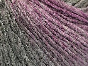 Fiber Content 70% Acrylic, 30% Wool, Pink, Brand Ice Yarns, Grey Shades, Yarn Thickness 3 Light  DK, Light, Worsted, fnt2-64217