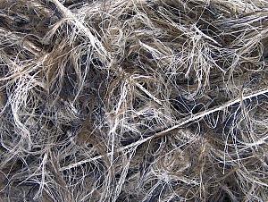 Fiber Content 100% Polyamide, White, Navy, Brand Ice Yarns, Brown, Yarn Thickness 6 SuperBulky  Bulky, Roving, fnt2-64235