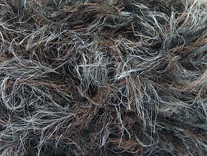 Fiber Content 90% Polyamide, 10% Acrylic, Brand Ice Yarns, Grey, Camel, Black, fnt2-64245