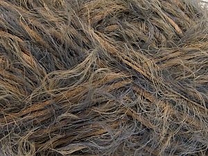 Fiber Content 50% Acrylic, 50% Polyamide, Brand Ice Yarns, Grey, Camel, fnt2-64391