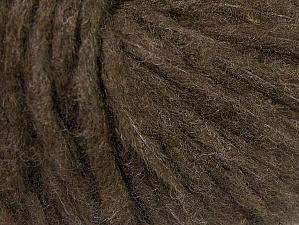 Fiber Content 88% Acrylic, 8% Polyamide, 4% Viscose, Brand Ice Yarns, Dark Brown, Yarn Thickness 5 Bulky  Chunky, Craft, Rug, fnt2-64428