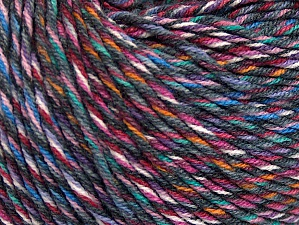 Fiber Content 55% Cotton, 45% Acrylic, White, Pink, Orange, Lilac, Brand Ice Yarns, Grey, Blue, Yarn Thickness 3 Light  DK, Light, Worsted, fnt2-64457