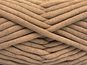 Fiber Content 60% Polyamide, 40% Cotton, Light Camel, Brand Ice Yarns, Yarn Thickness 6 SuperBulky  Bulky, Roving, fnt2-64484