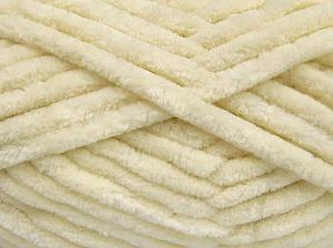Fiber Content 100% Micro Fiber, Brand Ice Yarns, Cream, Yarn Thickness 6 SuperBulky  Bulky, Roving, fnt2-64515