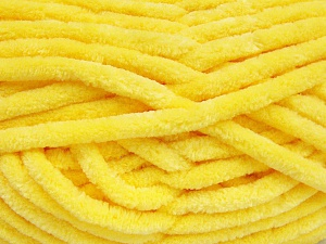 Fiber Content 100% Micro Fiber, Yellow, Brand Ice Yarns, Yarn Thickness 6 SuperBulky  Bulky, Roving, fnt2-64516