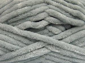 Fiber Content 100% Micro Fiber, Light Grey, Brand Ice Yarns, Yarn Thickness 6 SuperBulky  Bulky, Roving, fnt2-64518