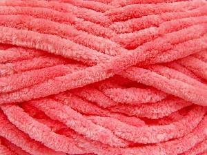 Fiber Content 100% Micro Fiber, Salmon, Brand Ice Yarns, Yarn Thickness 6 SuperBulky  Bulky, Roving, fnt2-64522