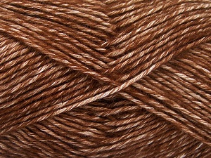 Fiber Content 80% Cotton, 20% Acrylic, Brand Ice Yarns, Brown, Yarn Thickness 2 Fine  Sport, Baby, fnt2-64551