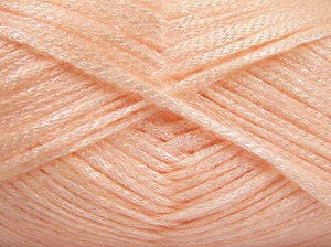 Fiber Content 70% Polyamide, 19% Wool, 11% Acrylic, Light Salmon, Brand Ice Yarns, Yarn Thickness 4 Medium  Worsted, Afghan, Aran, fnt2-64577