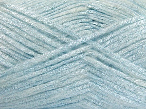 Fiber Content 70% Polyamide, 19% Wool, 11% Acrylic, Light Blue, Brand Ice Yarns, Yarn Thickness 4 Medium  Worsted, Afghan, Aran, fnt2-64579
