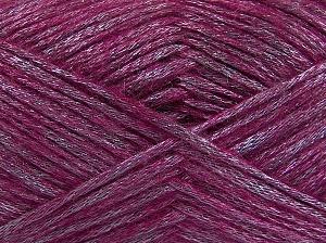 Fiber Content 70% Polyamide, 19% Wool, 11% Acrylic, Lilac, Brand Ice Yarns, Fuchsia, Yarn Thickness 4 Medium  Worsted, Afghan, Aran, fnt2-64584