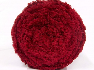 Fiber Content 100% Micro Fiber, Brand Ice Yarns, Burgundy, Yarn Thickness 6 SuperBulky  Bulky, Roving, fnt2-64616