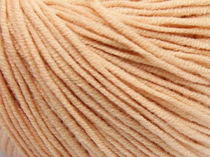 Fiber Content 50% Acrylic, 50% Cotton, Light Salmon, Brand Ice Yarns, Yarn Thickness 3 Light  DK, Light, Worsted, fnt2-64635