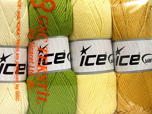 Fiber Content 52% Nylon, 48% Acrylic, Mixed Lot, Brand Ice Yarns, Yarn Thickness 4 Medium  Worsted, Afghan, Aran, fnt2-64673