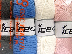 Fiber Content 52% Nylon, 48% Acrylic, Mixed Lot, Brand Ice Yarns, Yarn Thickness 4 Medium  Worsted, Afghan, Aran, fnt2-64674