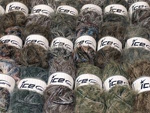 This mixed lot includes a total of 2000 gr (70.5 oz.) unlabeled yarn. There is no standard for ball weight. You will get what you see in the photo. In this list; you see most recent 50 mixed lots. <br>