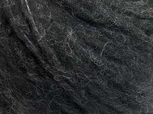 Fiber Content 88% Acrylic, 8% Polyamide, 4% Viscose, Brand Ice Yarns, Black, Yarn Thickness 5 Bulky  Chunky, Craft, Rug, fnt2-64905