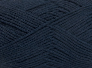 Fiber Content 67% Cotton, 33% Polyamide, Navy, Brand Ice Yarns, Yarn Thickness 2 Fine  Sport, Baby, fnt2-64936