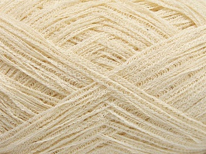 Fiber Content 74% Cotton, 26% Polyamide, Brand Ice Yarns, Cream, Yarn Thickness 3 Light  DK, Light, Worsted, fnt2-65072