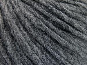Fiber Content 50% Merino Wool, 25% Alpaca, 25% Acrylic, Brand Ice Yarns, Grey, Yarn Thickness 5 Bulky  Chunky, Craft, Rug, fnt2-65076