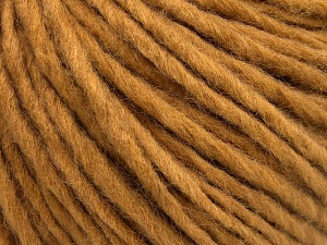 Fiber Content 50% Merino Wool, 25% Acrylic, 25% Alpaca, Brand Ice Yarns, Dark Gold, Yarn Thickness 5 Bulky  Chunky, Craft, Rug, fnt2-65080