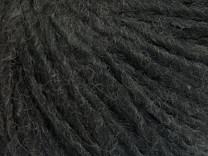Fiber Content 50% Merino Wool, 25% Acrylic, 25% Alpaca, Brand Ice Yarns, Anthracite Black, Yarn Thickness 5 Bulky  Chunky, Craft, Rug, fnt2-65172