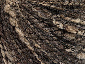 Fiber Content 45% Acrylic, 45% Wool, 10% Polyamide, Brand Ice Yarns, Brown Shades, Yarn Thickness 3 Light  DK, Light, Worsted, fnt2-65244