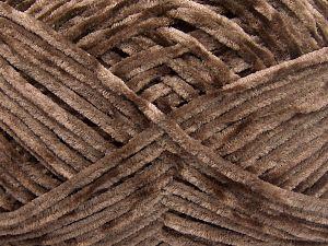 Fiber Content 100% Micro Fiber, Brand Ice Yarns, Brown, Yarn Thickness 3 Light  DK, Light, Worsted, fnt2-65515