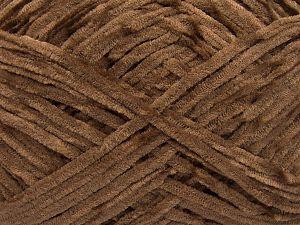 Fiber Content 100% Micro Fiber, Brand Ice Yarns, Dark Brown, Yarn Thickness 3 Light  DK, Light, Worsted, fnt2-65517