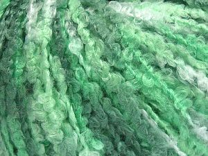 Fiber Content 40% Wool, 40% Acrylic, 20% Polyamide, Brand Ice Yarns, Green Shades, Yarn Thickness 4 Medium  Worsted, Afghan, Aran, fnt2-65529