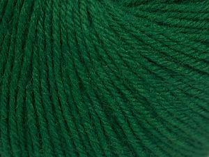 Fiber Content 40% Merino Wool, 40% Acrylic, 20% Polyamide, Brand Ice Yarns, Dark Green, Yarn Thickness 2 Fine  Sport, Baby, fnt2-65575