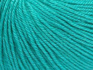 Fiber Content 40% Acrylic, 40% Merino Wool, 20% Polyamide, Light Turquoise, Brand Ice Yarns, Yarn Thickness 2 Fine  Sport, Baby, fnt2-65578