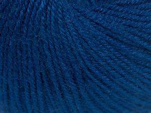 Fiber Content 40% Acrylic, 40% Merino Wool, 20% Polyamide, Navy, Brand Ice Yarns, Yarn Thickness 2 Fine  Sport, Baby, fnt2-65580