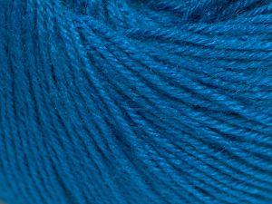 Fiber Content 40% Merino Wool, 40% Acrylic, 20% Polyamide, Turquoise, Brand Ice Yarns, Yarn Thickness 2 Fine  Sport, Baby, fnt2-65583