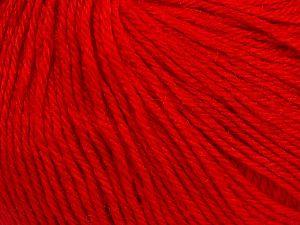 Fiber Content 40% Acrylic, 40% Merino Wool, 20% Polyamide, Red, Brand Ice Yarns, Yarn Thickness 2 Fine  Sport, Baby, fnt2-65585