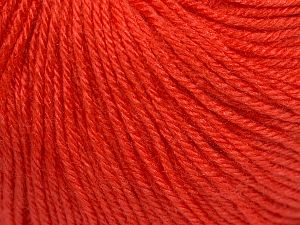 Fiber Content 40% Acrylic, 40% Merino Wool, 20% Polyamide, Salmon, Brand Ice Yarns, Yarn Thickness 2 Fine  Sport, Baby, fnt2-65586
