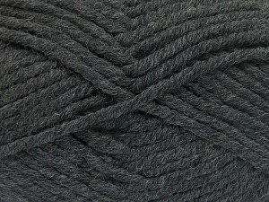 Fiber Content 50% Acrylic, 50% Wool, Brand Ice Yarns, Dark Grey, Yarn Thickness 6 SuperBulky  Bulky, Roving, fnt2-65608