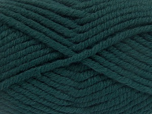 Fiber Content 50% Acrylic, 50% Wool, Teal, Brand Ice Yarns, Yarn Thickness 6 SuperBulky  Bulky, Roving, fnt2-65612