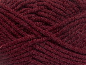 Fiber Content 50% Wool, 50% Acrylic, Brand Ice Yarns, Burgundy, Yarn Thickness 6 SuperBulky  Bulky, Roving, fnt2-65616