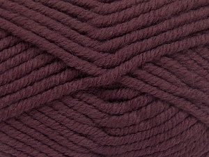 Fiber Content 50% Wool, 50% Acrylic, Rose Brown, Brand Ice Yarns, Yarn Thickness 6 SuperBulky  Bulky, Roving, fnt2-65624